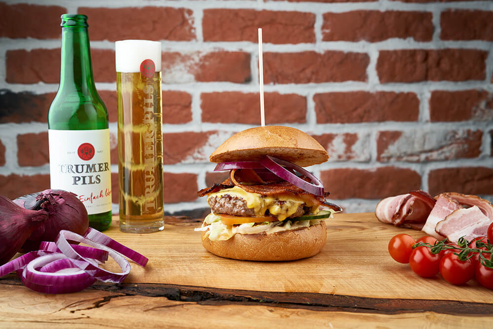 Burger Factory | Cheese and Bacon Burger